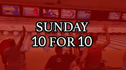 Sunday 10 for 10 league