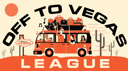 Off to Vegas logo
