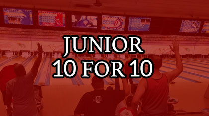 Jr. 10 for 10 logo