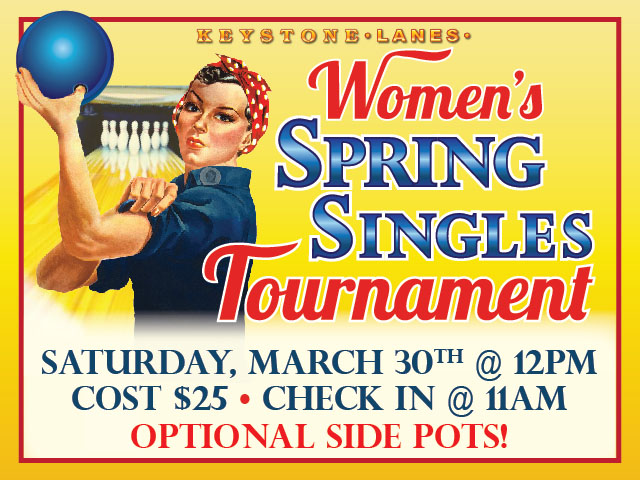 Women's Spring Singles Tournament ad