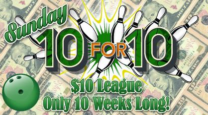 Sunday 10 for 10 logo